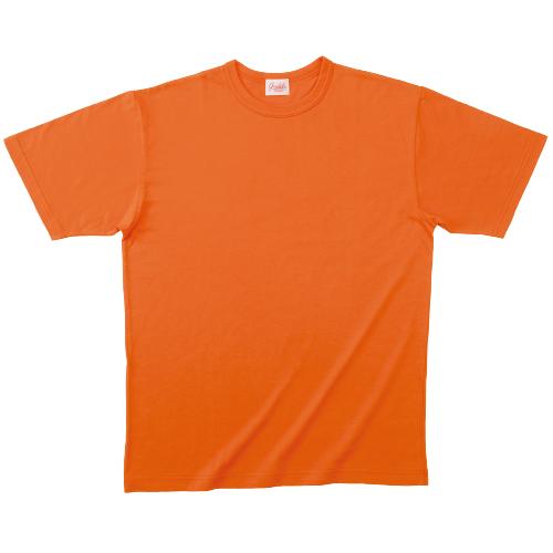10000/10001|国産無地Tシャツ|グランロボJメイド レギュラーTシャツ(431 キャロット)