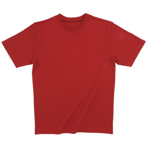 10222|国産無地Tシャツ|ダイヤコンドルJメイド ソフトヘビーTシャツ(247 トゥルーレッド)