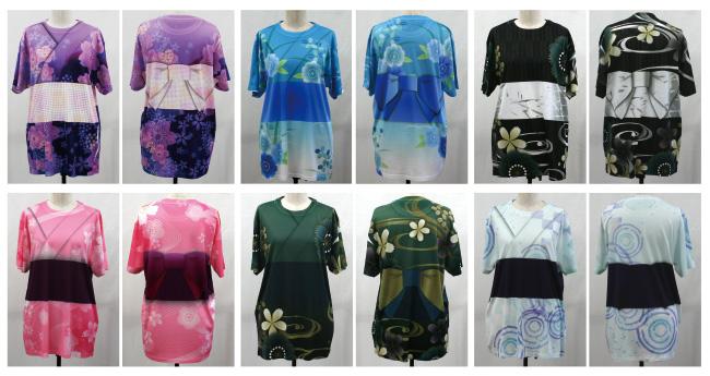 G JAPAN WAGARA(グランロボ・ジャパン・和柄シリーズ)浴衣柄Tシャツ
